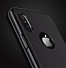 Joyroom iPhone X 360 Derece Koruma Gold Rubber Kılıf - Resim 1