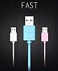 Joyroom JR-S118 Beyaz Micro USB Data Kablosu 1m - Resim 2