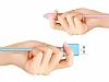 Joyroom JR-S118 Beyaz Micro USB Data Kablosu 1m - Resim 1
