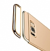 Joyroom Samsung Galaxy S8 3ü 1 Arada Gold Rubber Kılıf - Resim 1
