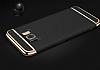 Joyroom Samsung Galaxy S8 3ü 1 Arada Gold Rubber Kılıf - Resim 3