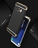 Joyroom Samsung Galaxy S8 Plus 3ü 1 Arada Rose Gold Rubber Kılıf - Resim 1