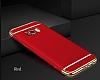 Joyroom Samsung Galaxy S8 Plus 3ü 1 Arada Kırmızı Rubber Kılıf - Resim 3