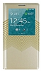 Joyroom Samsung N9000 Galaxy Note 3 Brilliant Golden Uyku Modlu Pencereli Gold Deri K�l�f