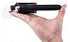 Joyroom Universal Aynalı Bluetooth Tuşlu Pembe Selfie Çubuğu 50 cm - Resim 3