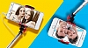 Joyroom Universal Aynalı Bluetooth Tuşlu Pembe Selfie Çubuğu 50 cm - Resim 4