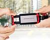 Joyroom Universal Aynalı Bluetooth Tuşlu Pembe Selfie Çubuğu 50 cm - Resim 1