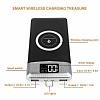 Kablosuz Şarj Özellikli 10000 mAh Powerbank Beyaz Yedek Batarya - Resim 7