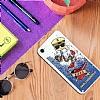 Karl Lagerfeld iPhone 7 / 8 Captain Karl Simli Mavi Silikon Kılıf - Resim 1