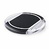 KEY Universal Siyah Kablosuz Şarj Cihazı - Resim 1