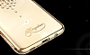 Kingxbar Samsung Galaxy S8 Plus Damla Gold Taşlı Kristal Kılıf - Resim 1