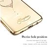 Kingxbar Samsung Galaxy S8 Plus Kalp Taşlı Kristal Kılıf - Resim 2
