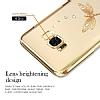 Kingxbar Samsung Galaxy S8 Plus Yusufçuk Taşlı Kristal Kılıf - Resim 3