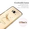 Kingxbar Samsung Galaxy S8 Plus Yusufçuk Taşlı Kristal Kılıf - Resim 1