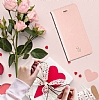 La Vie Fashion Folio iPhone X Soft Pink Kılıf - Resim: 1