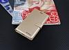 Eiroo Lenovo K5 Note Cüzdanlı Yan Kapaklı Gold Deri Kılıf - Resim 3