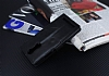 Eiroo Lenovo K5 Note Cüzdanlı Yan Kapaklı Siyah Deri Kılıf - Resim 4