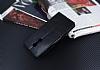 Lenovo K6 Note Cüzdanlı Yan Kapaklı Siyah Deri Kılıf - Resim 2