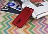 Lenovo K6 Power Mat Kırmızı Silikon Kılıf - Resim 2