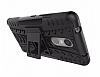 Lenovo K6 Note Ultra Süper Koruma Standlı Siyah Kılıf - Resim 3