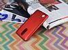 LG K8 2017 Tam Kenar Koruma Kırmızı Rubber Kılıf - Resim 1