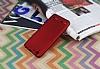 Lenovo Vibe K5 Mat Kırmızı Silikon Kılıf - Resim 2