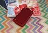 Lenovo Vibe K5 Mat Kırmızı Silikon Kılıf - Resim 1