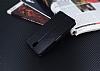 Lenovo Vibe S1 Cüzdanlı Yan Kapaklı Siyah Deri Kılıf - Resim 4