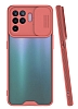 Lens Thin Oppo A94 Kamera Korumalı Pembe Silikon Kılıf