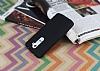 LG G2 Mat Siyah Silikon Kılıf - Resim 2