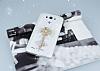 LG G3 Taşlı Anahtar Şeffaf Silikon Kılıf - Resim 2