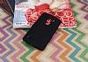 LG G4 Beat Mat Siyah Silikon Kılıf - Resim 1
