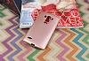 LG G4 Beat Mat Rose Gold Silikon Kılıf - Resim 1