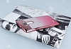 LG G4 Simli Parlak Pembe Silikon Kılıf - Resim 2