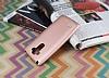 LG G4 Stylus Mat Rose Gold Silikon Kılıf - Resim 2