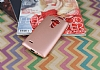 LG G4 Stylus Mat Rose Gold Silikon Kılıf - Resim 1