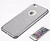 LG G4 Stylus Simli Siyah Silikon Kılıf - Resim 2