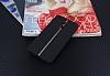 LG G6 Kadife Dokulu Siyah Silikon Kılıf - Resim 1