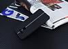 LG G6 Kadife Dokulu Siyah Silikon Kılıf - Resim 2