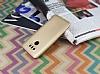 LG G6 Mat Gold Silikon Kılıf - Resim 1