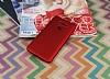 LG G6 Mat Kırmızı Silikon Kılıf - Resim 2