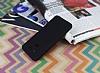LG G6 Mat Siyah Silikon Kılıf - Resim 1