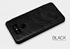 Nillkin LG G6 Uyku Modlu Pencereli Kapaklı Siyah Deri Kılıf - Resim 2