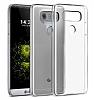 LG G6 Şeffaf Kristal Kılıf - Resim 1