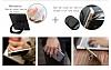 IMAK LG G6 Selfie Yüzüklü Siyah Rubber Kılıf - Resim 8