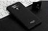 IMAK LG G6 Selfie Yüzüklü Siyah Rubber Kılıf - Resim 6