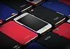IMAK LG G6 Selfie Yüzüklü Siyah Rubber Kılıf - Resim 5