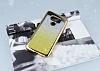 LG G6 Simli Parlak Gold Silikon Kılıf - Resim 1