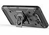 LG G6 Standlı Ultra Koruma Siyah Kılıf - Resim 1