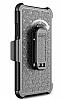 LG G6 Standlı Ultra Koruma Siyah Kılıf - Resim 3